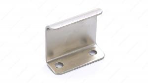Poignée contemporaine pour rebord en métal - 3966 - 25 mm -  Nickel brossé