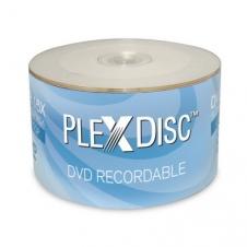 DVD écrivable - PlexDisc - DVD-R - 16x - 4.7 GO - Emballage de 50