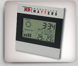 Two Tone Clock and Weather Station