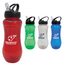 Gourde de sport en plastique - 24 oz. #RushExpress72hrs