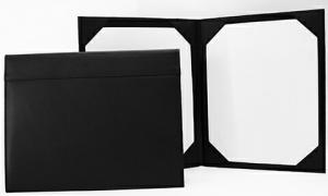 Bennett Leatherette Double Certificate/ Document Holder