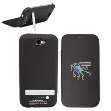 4200 mAH External Battery & Case for Galaxy Note II