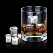 Stainless Steel Ice Cubes - Set of 4