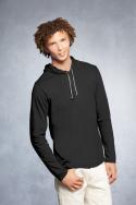 Anvil - 987 -T-Shirt capuchon manche longue  - 100% coton