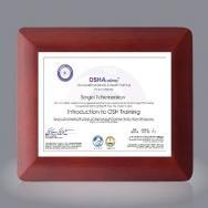 Boise Certificate Holder - Rosewood 8½x11
