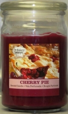 BAKE SHOP 15 OZ CANDLE JAR-CHERRY PIE
