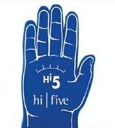5 Finger Foam Hand