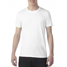 ANVIL - 6750 - T-Shirt - Triblend Crew Neck Tee - 50/25/25 - Blanc - Large