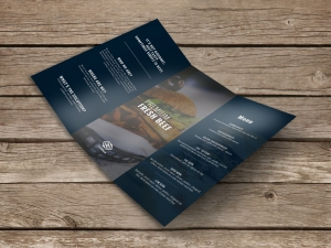 Brochures (Dépliants) - 100lb Gloss Text