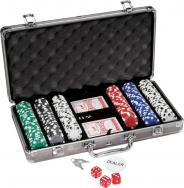 300 pc Titanium Poker Set