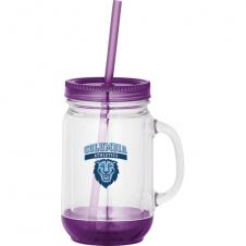20 Oz. Game Day Double-Wall Mason Jar