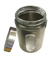 Glass/Stainless Steel Container