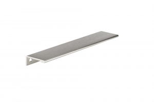Contemporary Aluminum Edge Pull - 9898 - 192 mm - Stainless Steel