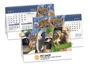Desk Calendars - WILDLIFE - DOUBLE VIEW®