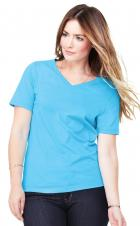 Bella+Canvas - 6405 - Relaxed Jersey T-Shirts V-Neck - 100% Cotton
