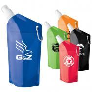 20 Oz. Sip-n-Store Collapsible Water Bag