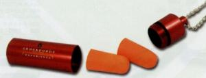 Travel Ear Plugs W/ Metal Storage Tube