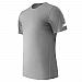 NEW BALANCE - MT81036P - T-Shirt - T-Shirt à manche courte pour homme - 100% Polyester - Acier - X-Large