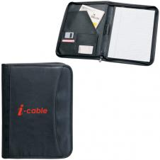 ZIPPERED NOTEPAD PORTFOLIO