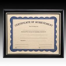 Black Farnsworth Certificate Plaque