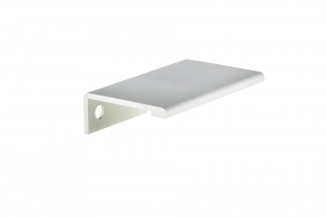 Contemporary Aluminum Edge Pull - 9898 - 50 mm - Aluminium