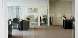 Film pour vitres - Films de visualisation - VISUAL 60 - Carrés givrés 10 mm x 10 mm (Rouleau 2 x 34')