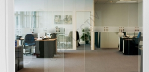Window Films - Display Films - VISUAL 60 - Frosted squares of 10 mm x 10 mm (Roll of 2 x 34')
