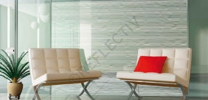 Window Films - Decorative Films - White Films - INT 500 - Horizontal Whites Lines
