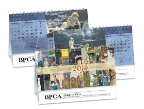 Desk Calendars - THE IMPRESSIONISTS - DOUBLE VIEW®