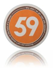 Coasters - 60pt 3.5 Round