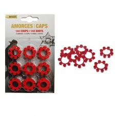 Bullet - Amorces (Pétards) - Amorce 18 anneaux x 8 coups - 144 coups