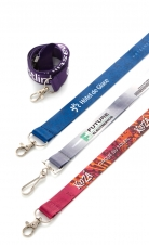 "Sublimated Lanyards (3/8""-1/2""-3/4""-1"")"