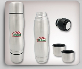 Thermos w/ 2 Small Cups
